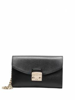 Furla grained leather clutch bag WE00120ARE000