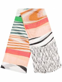 Missoni fringed stripe scarf MDS00130BK000F