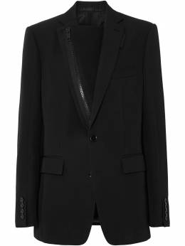 Burberry zip panelled tailored jacket 4567785