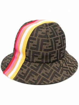 Fendi Kids FF-pattern bucket hat JUP009AF11F1CWQ