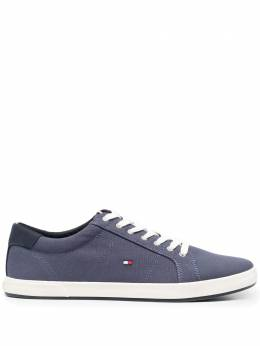 Tommy Hilfiger embroidered-logo detail sneakers FM0FM01536