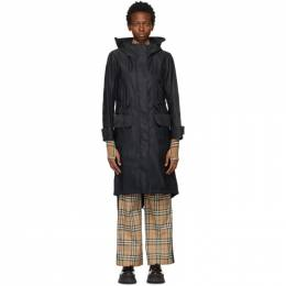 Burberry Black Bacton Coat 8041206
