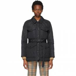 Burberry Black Quilted Kemble Jacket 8034122