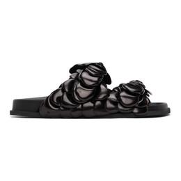 Valentino Black Valentino Garavani 03 Rose Edition Atelier Petal Sandals VY2S0E30YFS
