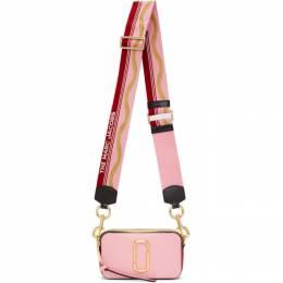 Marc Jacobs Pink and Red The Snapshot Bag M0012007