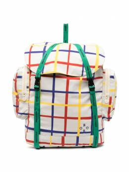Bobo Choses grid-print backpack 121AK006105
