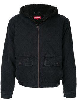 Supreme куртка с капюшоном и логотипом SU6152