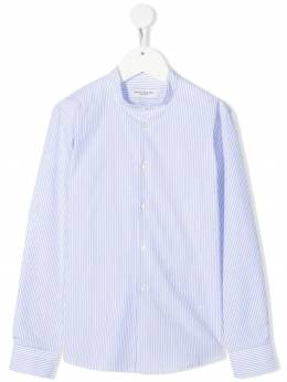 Paolo Pecora Kids fine stripe-print cotton shirt PP2698