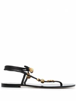 Tory Burch Capri beaded sandals 80044