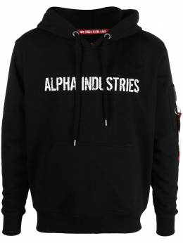Alpha Industries худи Remove Before Flight 116337A