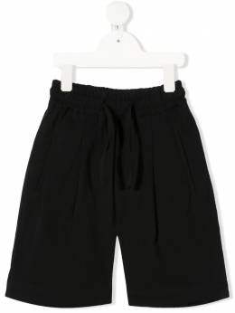 Paolo Pecora Kids logo patch shorts PP2715