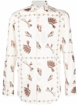 Etro all-over graphic print shirt 114516302