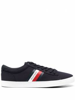 Tommy Hilfiger signature-stripe sneakers FM0FM03389
