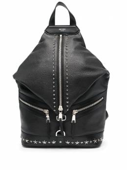 Jimmy Choo Fitzroy star-studded backpack FITZROYNUUF