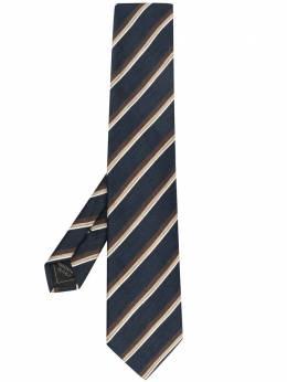 Brioni галстук в полоску O61D00P041T