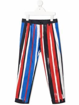 Dolce & Gabbana Kids striped trousers L43P42G7WUN