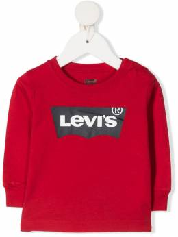 Levi's Kids logo-print cotton sweater LK6E8646