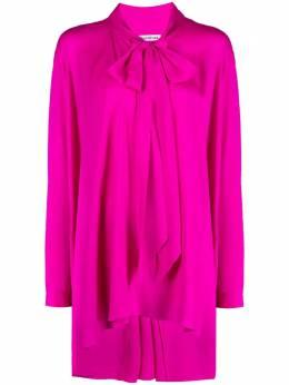 Balenciaga блузка с завязками 647659TIN15