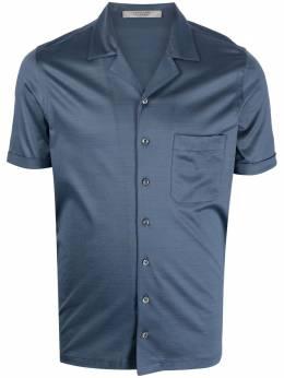 La Fileria For D'Aniello рубашка с короткими рукавами и заостренным воротником 6018674001