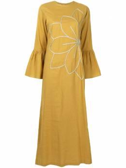 Bambah платье Camellia с цветочной вышивкой BMRM2123