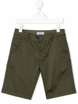 Paolo Pecora Kids шорты чинос с нашивкой-логотипом PP2741