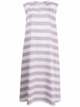 Bambah полосатое платье с широким вырезом BMRM2122