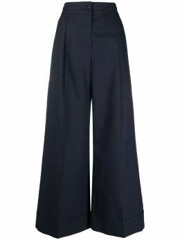 See By Chloe high-waisted wide leg trousers CHS21UPA05020