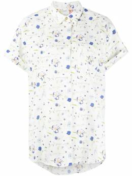 Paul Smith floral-print cotton shirt W1R260BF01387