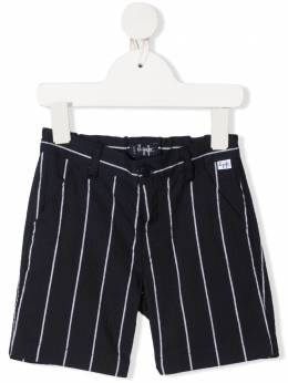 Il Gufo striped cotton shorts P21PB069C1067