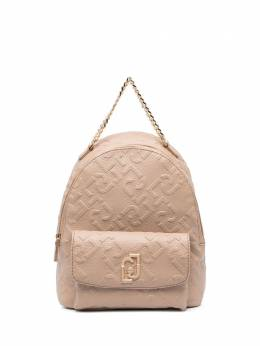 Liu Jo embossed-logo backpack AA1342E0538