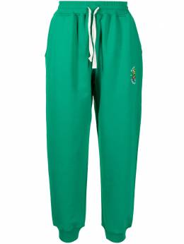 Casablanca embroidered Tennis Club trousers MS21JTR007
