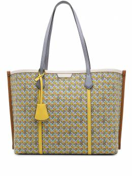 Tory Burch Perry-printed triple-compartment tote bag 80365400
