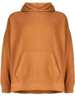 Visvim uneven-dye hoodie 0121105010014