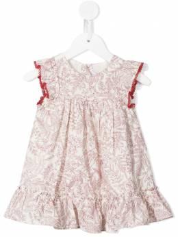 Tartine Et Chocolat платье с цветочным принтом и оборками TS30011