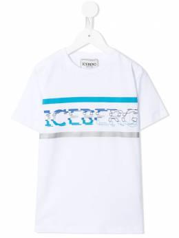 Iceberg Kids футболка с круглым вырезом и логотипом TSICE1112J