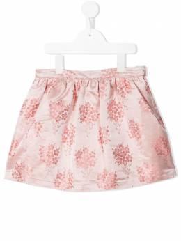 Hucklebones London юбка с цветочным принтом SS21503