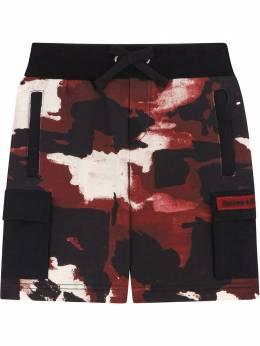 Dolce & Gabbana Kids шорты карго с камуфляжным принтом L4JQH9HS7E1