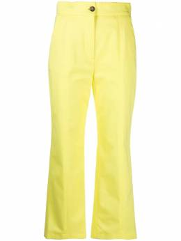 MSGM cropped flared trousers 3041MDP08A217109