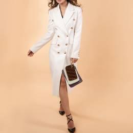 Fendi Multicolor Zucca Velvet and Leather Triplette Clutch Bag 396079