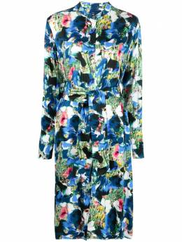 Ps by Paul Smith floral print shirt dress W2R350DF30751