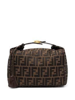 Fendi Pre-Owned сумка-тоут с принтом Zucca 291253480078