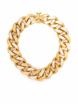 Tory Burch cable-chain choker necklace 79858