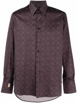 Billionaire рубашка Milano с геометричным принтом IAACMRP1460BTE002N