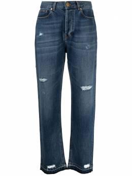 Pt05 джинсы свободного кроя с завышенной талией C1VJEDBA0DENOA33