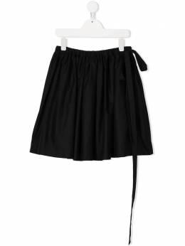 Touriste расклешенная юбка с завязками TS145
