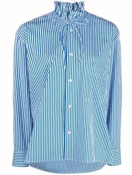 Plan C полосатая рубашка с завязками CMCAB56K00TC051