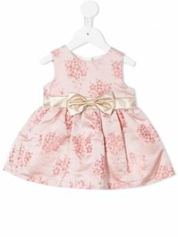 Hucklebones London платье с цветочной вышивкой SS21B501