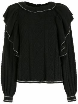 NK блузка с бантом BL041485