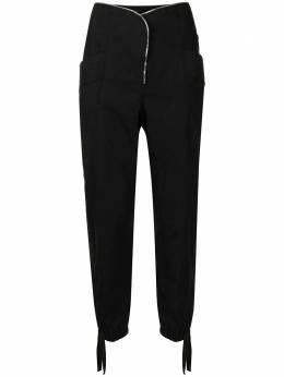 Rta брюки с декоративной молнией WH04591063BLK