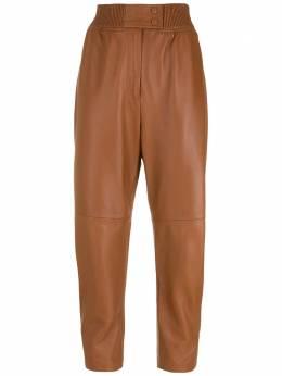 NK однотонные брюки CA160124